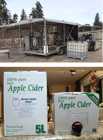 Packaging Services from Northwest Mobile Juicing